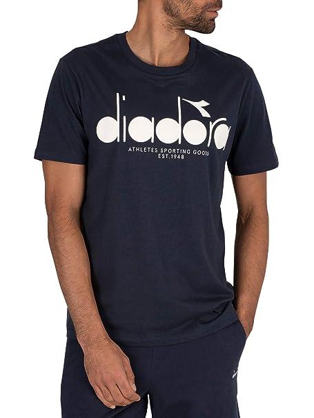 Diadora de los Hombres Camiseta 5Palle, Azul, L: Amazon.es: Ropa y ...