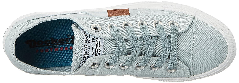 Dockers by Gerli Sneakers Damen 40th201-790610 Sneakers Gerli Blau (Hellblau 610) dd8441