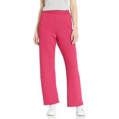 Hanes Women's Petite Ladies Fleece Pant-Reg: Clothing