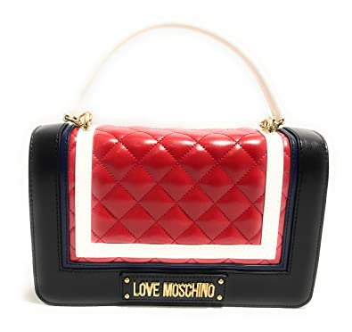 code promo 55c45 cadc7 Love Moschino , Sac bandoulière pour femme Rouge rouge S ...
