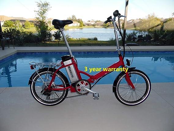 Amazon.com: Bistro 2019 - Bicicleta eléctrica de 48 voltios ...
