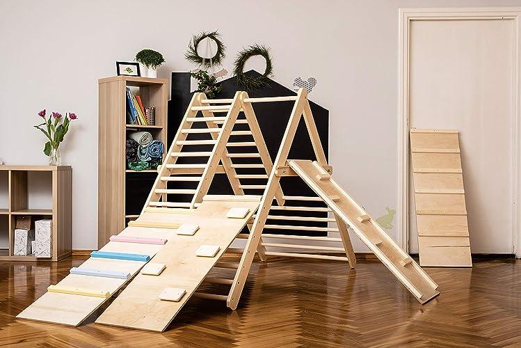 Pikler Klettergerüst - Fitnessstudio für Kleinkinder