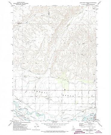 Amazon Com Yellowmaps Northwest Emmett Id Topo Map 1 24000 Scale