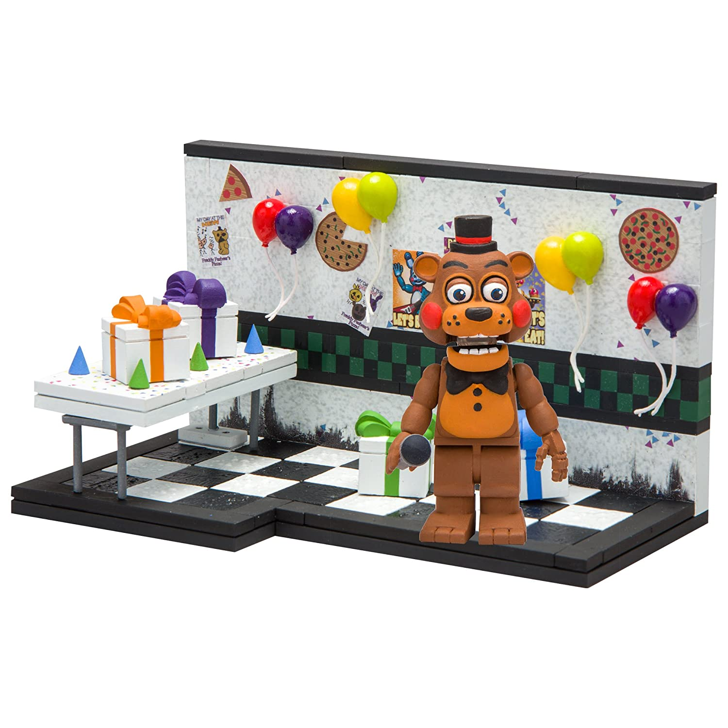 McFarlane Toys Five Nights at Freddys Party Room Construction Building Kit 12692-1