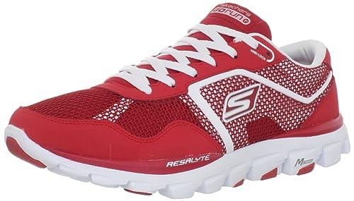 SKECHERS GOrun Ride Ultra Zapatilla de Running Caballero, Rojo, 41: Amazon.es: Zapatos y complementos