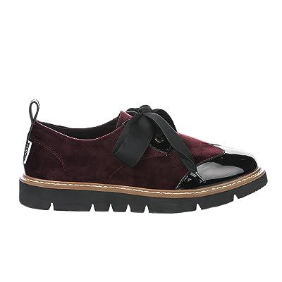 a71f0db72 Armistice Chaussures à Lacet Femme Rouge Bordeaux - Fox Derby W ...