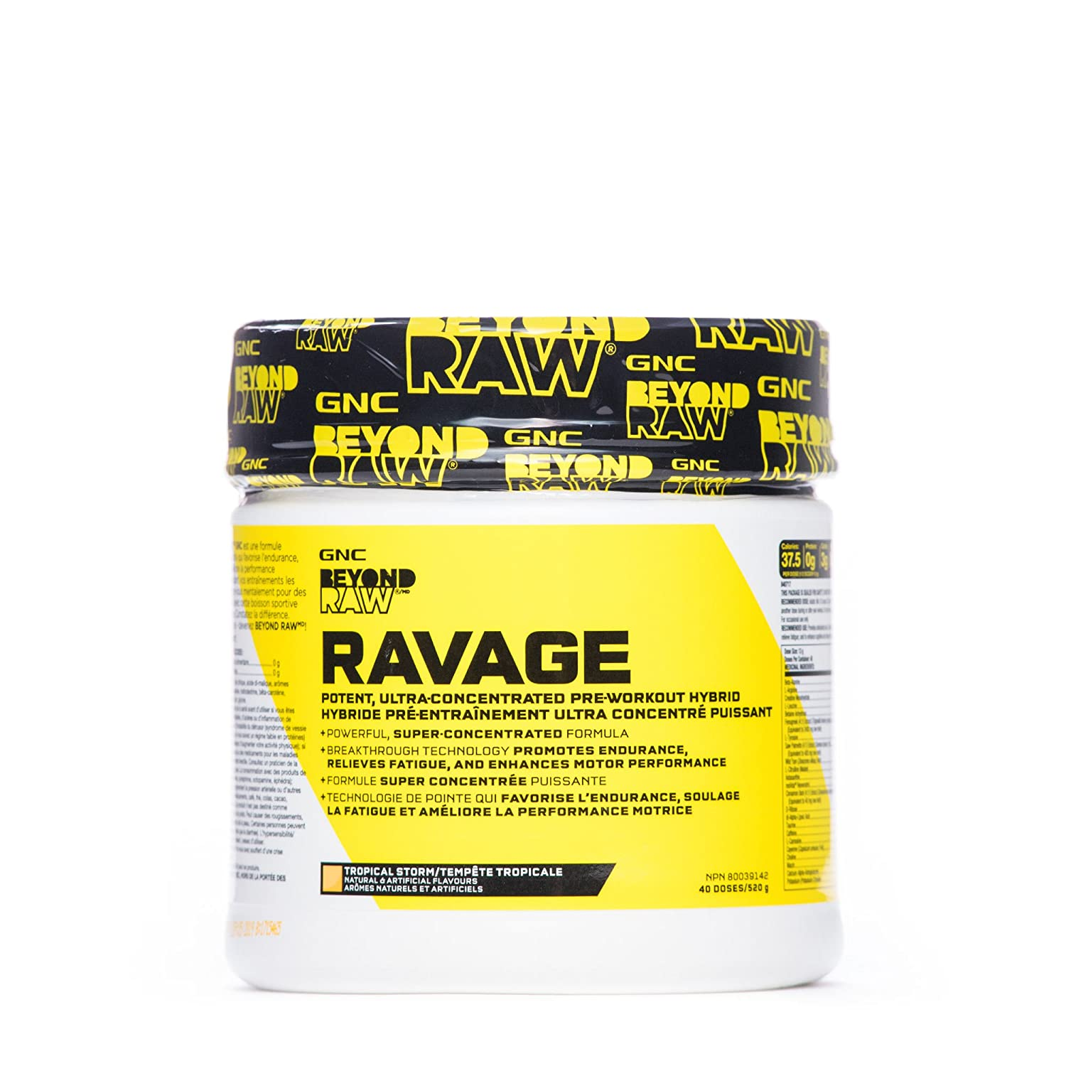 Gnc Beyond Raw Ravage Tropical Storm Amazonca Health Personal Care