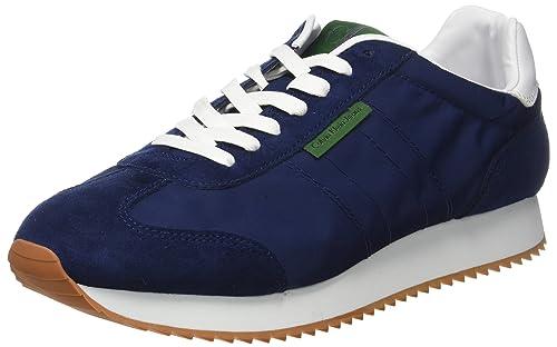 Calvin Klein Jeans Graph Nylon/Suede, Zapatillas Para Hombre, Azul (Ind 000), 45 EU