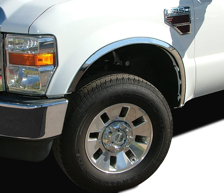 2007-2013 SIERRA 1500 TRUCK CHROME WHEEL FENDER  FLARE MOLDING TRIM WARRANTY