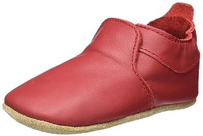 Bobux Baby Mädchen Vogue Rot Slipper, Rot (Rot), L