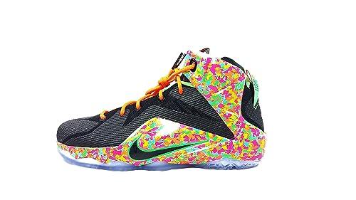 sports shoes ad037 c857c Nike Lebron Vll 12 (GS) Fruity Pebbles 685181 008 Size 7YUS ...