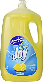 Joy Ultra Dishwashing Liquid, Lemon Scent, 90-ounce