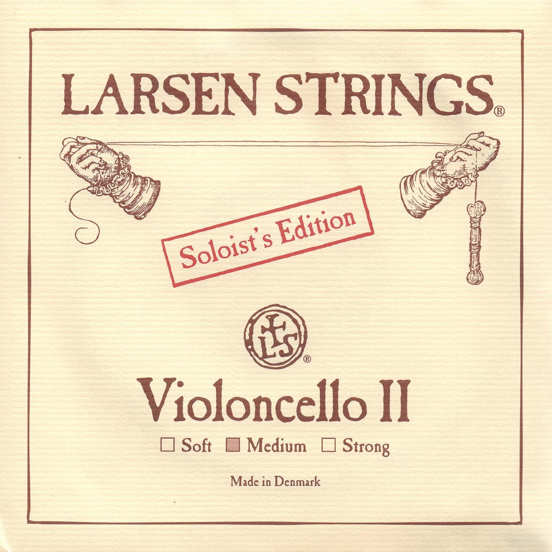 Larsen Soloist 4/4 Cello D String Medium Alloy-Steel Lar-3898