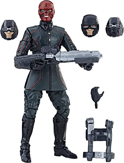"Marvel Legends Studios MACHINE GUN Captain America 6/"" Figure Series Army WW2"