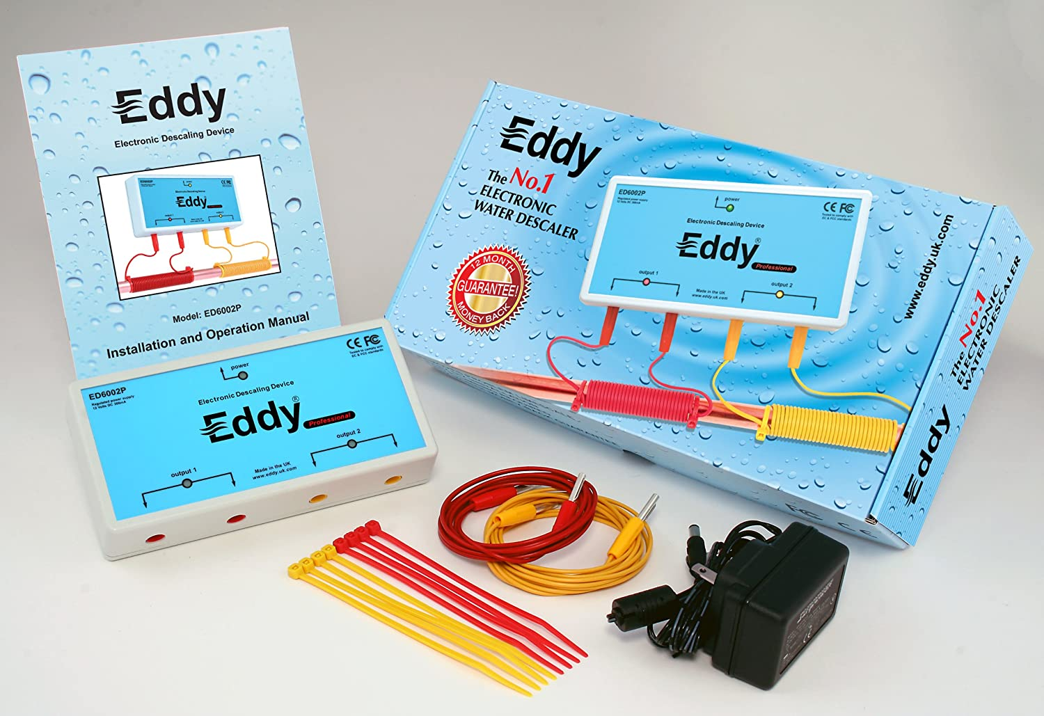Eddy Electronic Water Descaler components