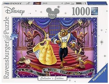 Ravensburger 19746 - Puzzles 1000 piezas, Disney Classic, La bella y la Bestia