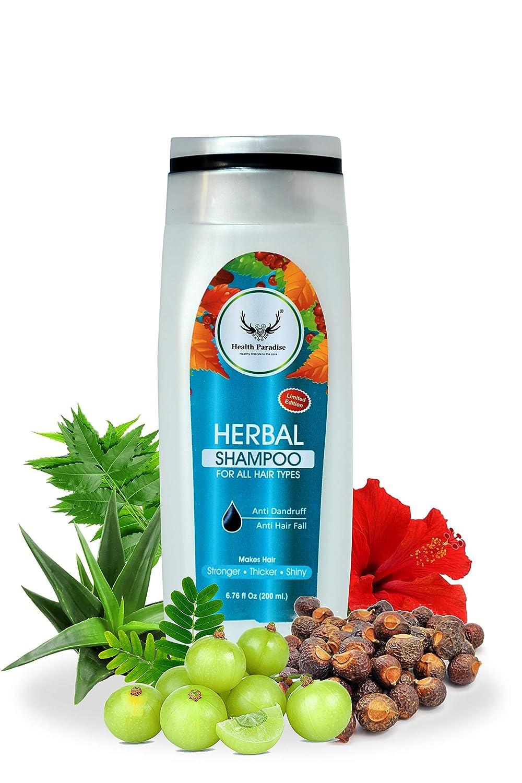 Health Paradise Bringha Anti Hair Fall No Parabens & Sulphate Shampoo 200ML