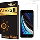 Ailun 0.25mm 2.5D Edge Tempered Glass Case Friendly Screen Protector for Apple iPhone SE2020 2nd Generation, iPhone 8,7…