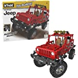 K'NEX Jeep Wrangler Building Set - 682 Parts - Authentic Battery Powered Motorized Replica - STEM Toy - Ages 9 & Up…
