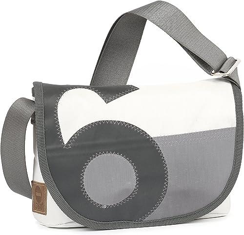 360° Perle Handtasche Damen aus Segeltuch, kleine Recycling