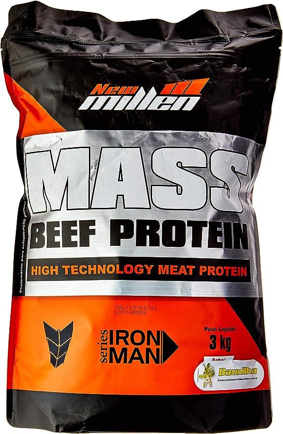 Mass Beef Protein 3000g Refil Baunilha, New Millen por New Millen