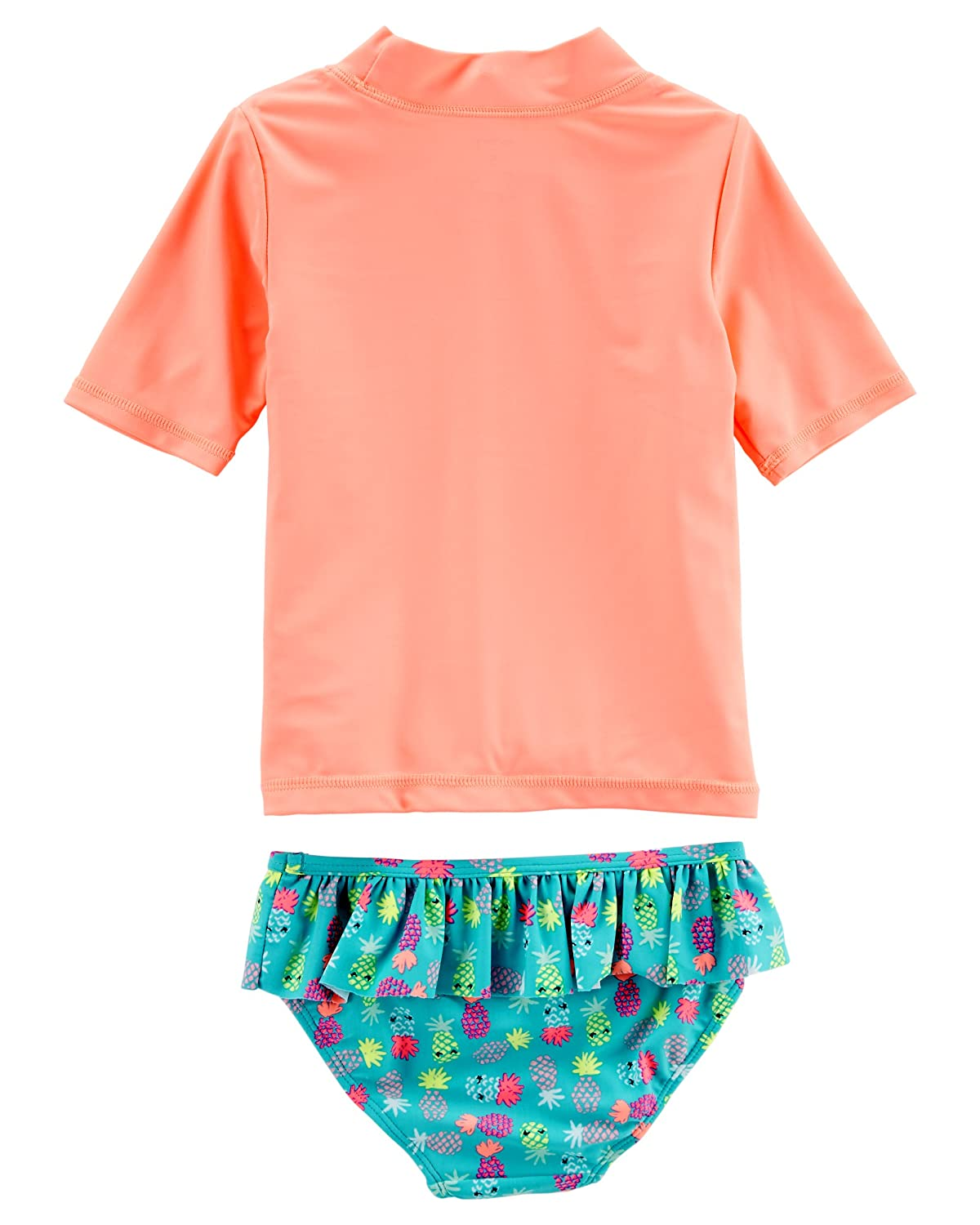 Carters Big Girls Two Piece Swimsuit