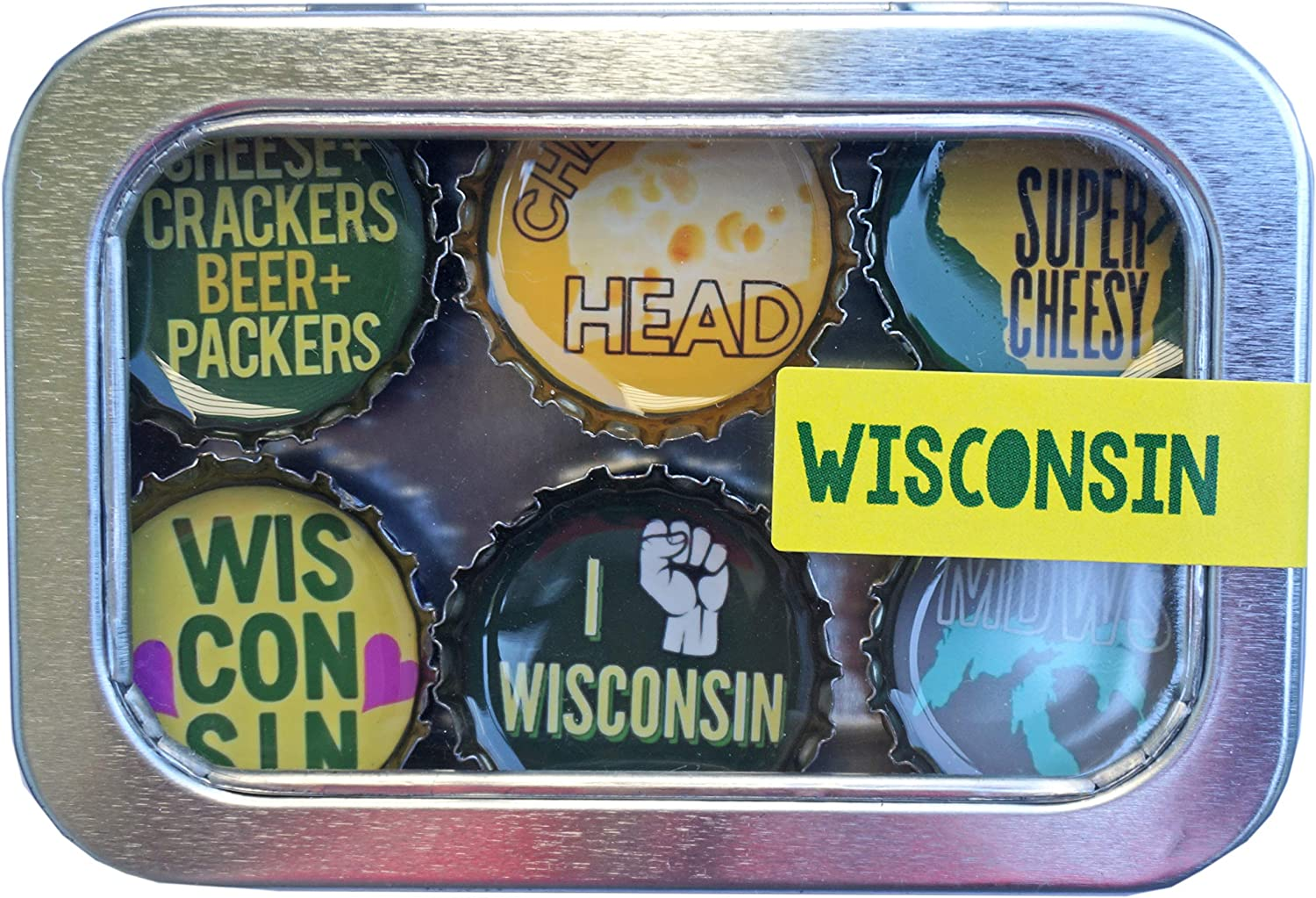 Kate Grenier Designs m6 Magnet six pack, Small, Multicolored