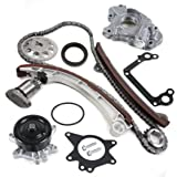 "CNS TK1030WPOP Brand New OE Replacement Timing Chain Kit, Water Pump Set, & Oil Pump Set for VVT-i Engine ""1ZZFE"" ""1ZZ-FE"""