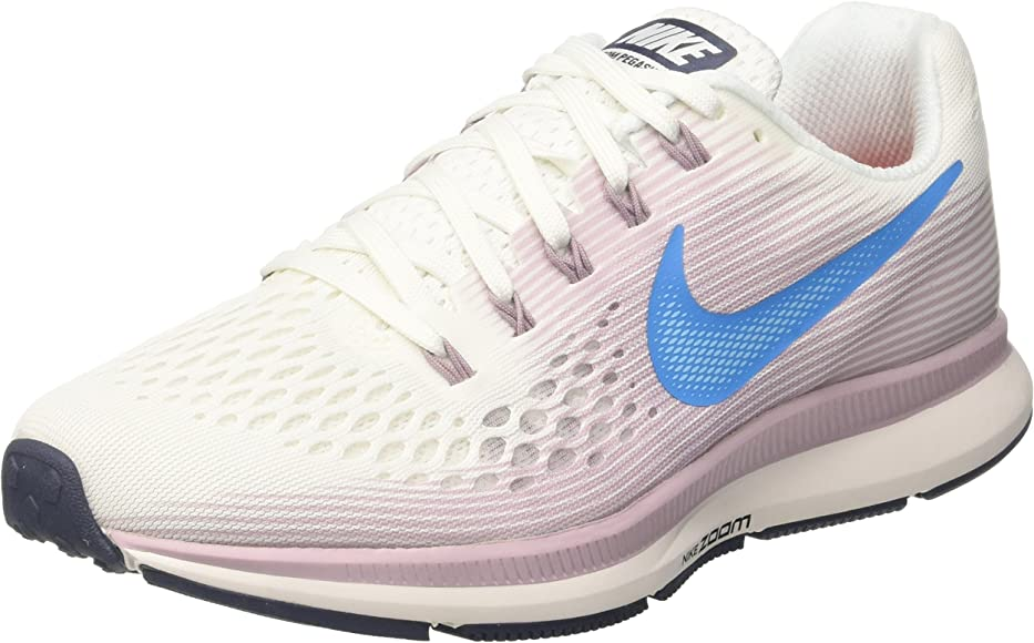 premium selection 3a846 0a7e2 Womens WMNS Air Zoom Pegasus 34 Running Shoes, Summit White Size 11 US
