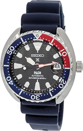 Amazon Com Seiko Prospex Padi Mini Turtle Special Edition