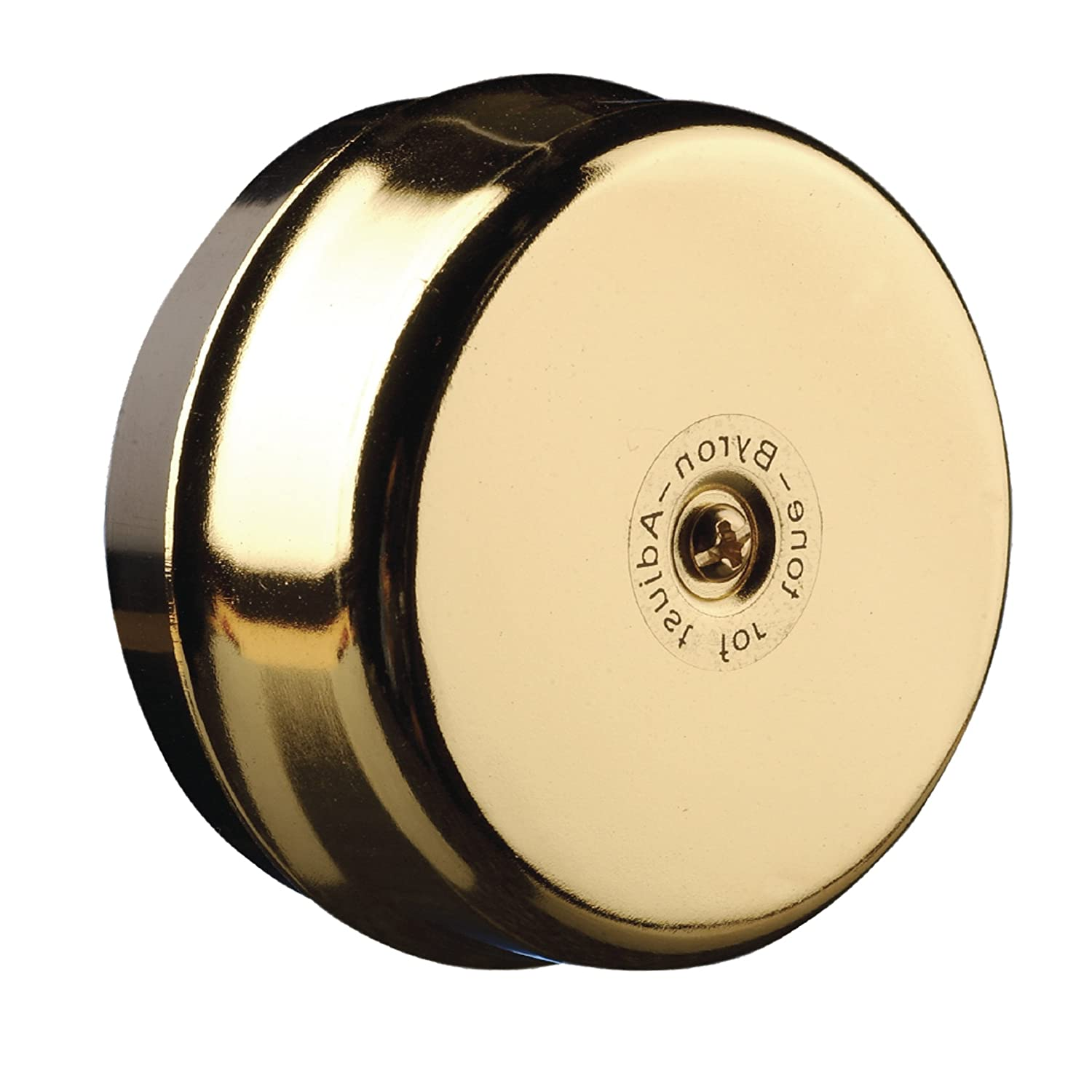 Byron 1200 Wired Wall Mounted Brass Underdome Doorbell BYR1200