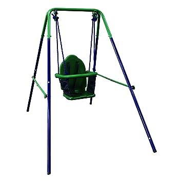 Amazon Com Aleko Bsw02 Child Baby Toddler Indoor Outdoor Swing