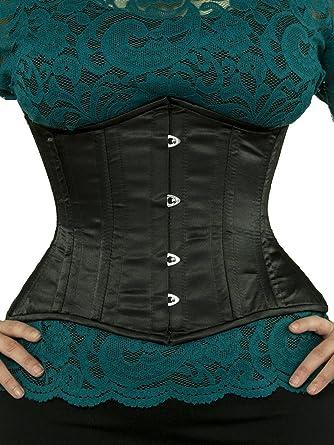 Amazon com orchard corset cs 426 standard satin corset clothing