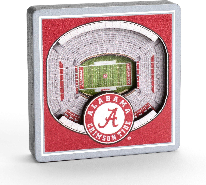 YouTheFan NCAA 3D Logo Series Magnet