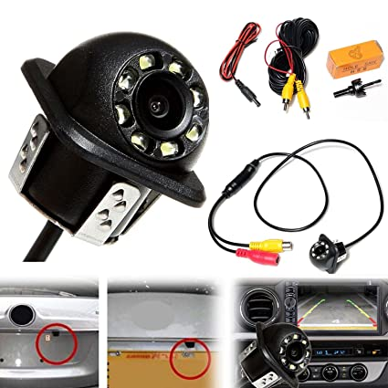 Waterproof Car Rear View Reverse Backup Parking Camera Night Vision 170° Cmos Car Video