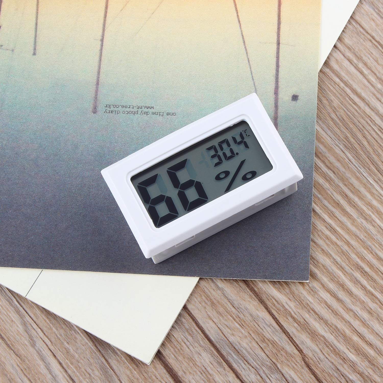 Thermom/ètre num/érique professionnel LCD Thermom/ètre Hygrom/ètre Humidit/é Temp/érature M/ètre Capteur daffichage num/érique LCD int/érieur