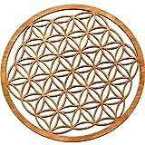 MC-TREND® Fiore della vita di alta qualità in legno (24 cm)