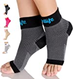 Dowellife Plantar Fasciitis Socks, Ankle Brace Compression Support Sleeves & Arch