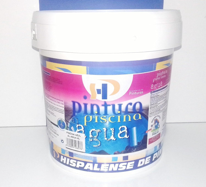 PINTURA DE PISCINA AL AGUA 4 L (BLANCA) HISPALENSE DE PINTURAS