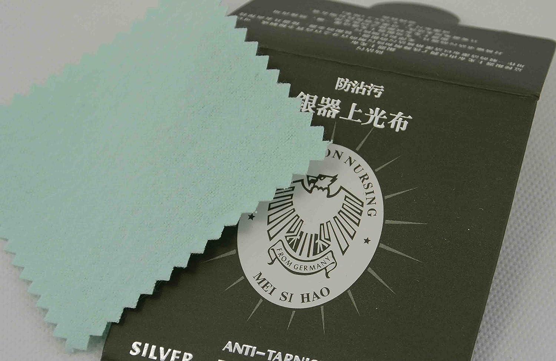 Silver Polishing Cloth Anti Tarnish - 80x80mm (81720-24) Box Displays
