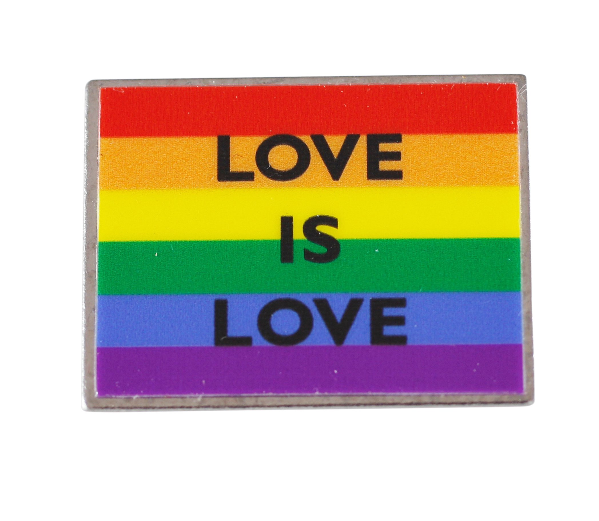 Forge Love is Love Gay Pride Rainbow Flag Lapel Pin(5 Pack)