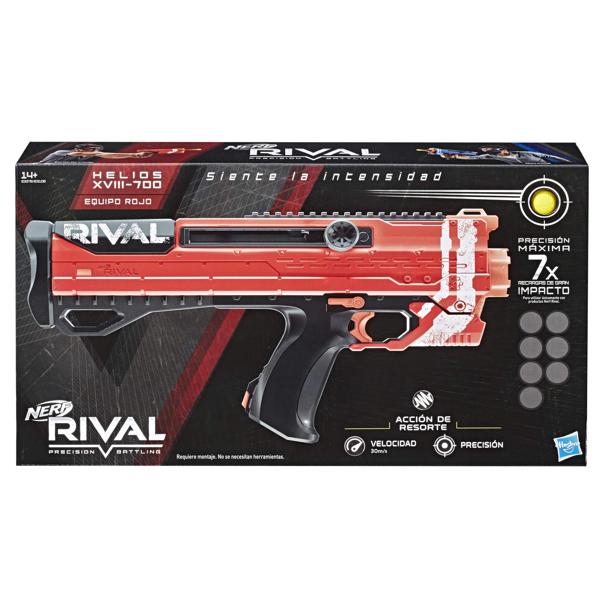 NERF Ner Rival Helios XVIII 700 Red