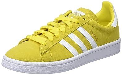 Zapatos amarillos Adidas infantiles HU9syE