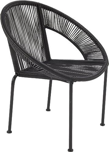 Best living room chair: Deco 79 Metal Plastic Chair
