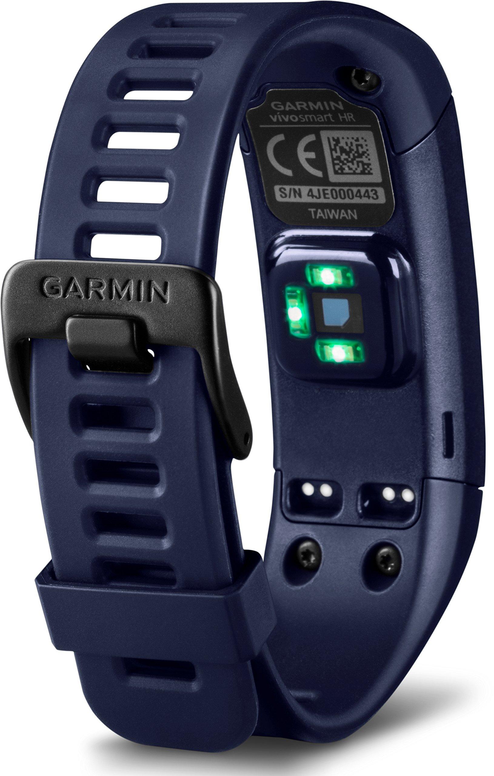 Garmin vívosmart HR Activity Tracker Regular Fit - Midnight Blue (Deep Blue) by Garmin (Image #4)