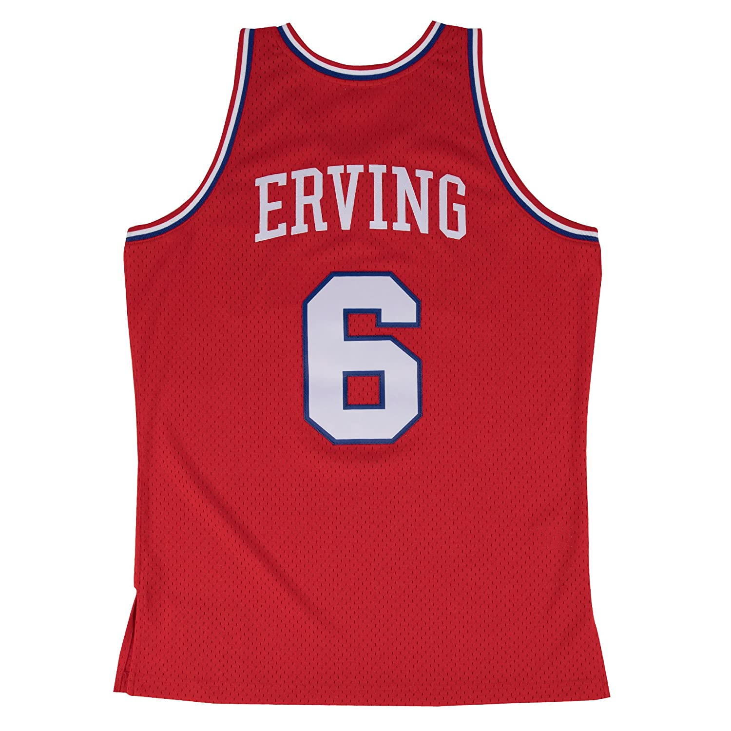 low priced cdb61 70b4b Mitchell & Ness Julius Erving Philadelphia 76ers #6 NBA Men's HWC Swingman  Jersey