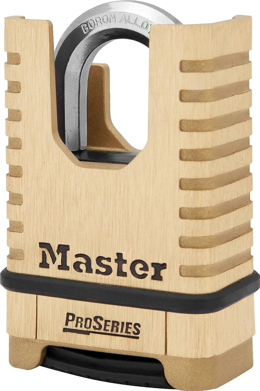 Master Lock Excell M 178 EURD 56 mm Combinaison de Sécurité Cadenas Réinitialisable Outdoor