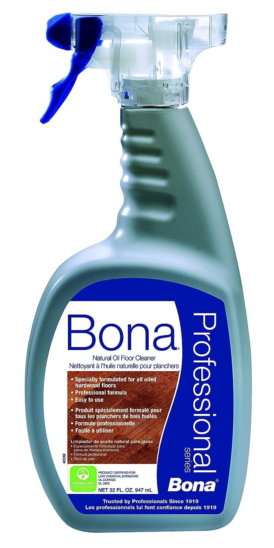 Amazon.com: BonaKemi USA WM701151001 Hardwood Floor Cleaner Bona Natural  Oil Floor Cleaner Pro 32oz: Home U0026 Kitchen