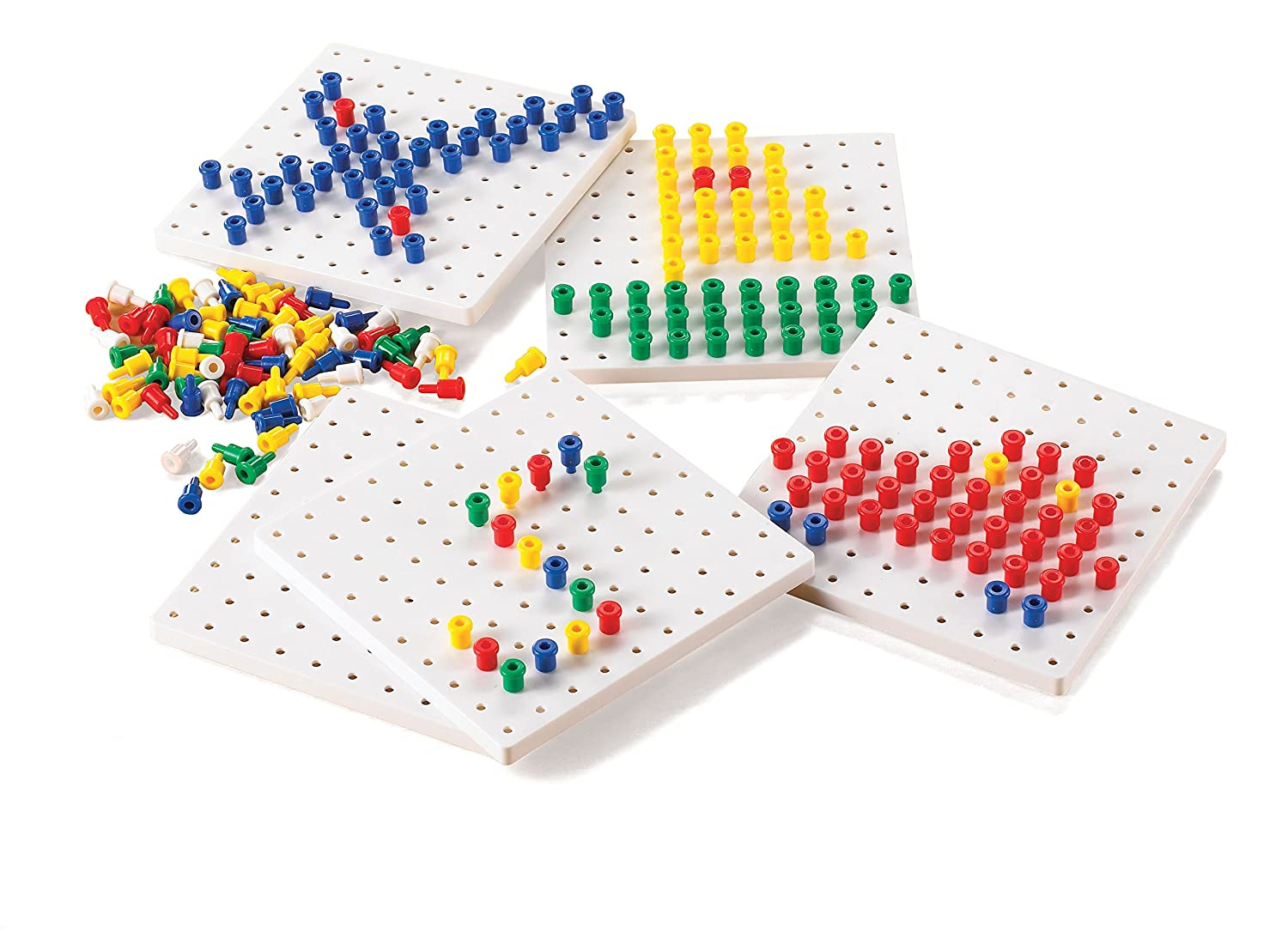 edx education 52440 5 Peg Boards with Pegs