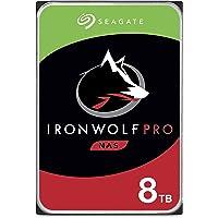 Seagate IronWolf Pro 8TB NAS Internal Hard Drive HDD – 3.5 Inch SATA 6Gb/s 7200 RPM 256MB Cache for RAID Network…